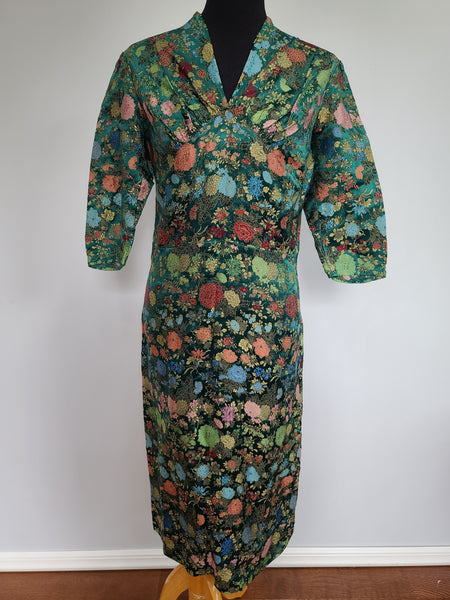 Vintage 1930s / 1940s Asian Style Dress from Germany