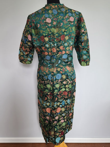 "Asian Style Dress from Germany <br> (B-43"" W-36"" H-40"")"