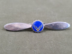 Army Air Corps Propeller Pin Sterling