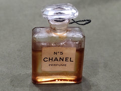 Vintage Chanel No. 5 Small Perfume Bottle