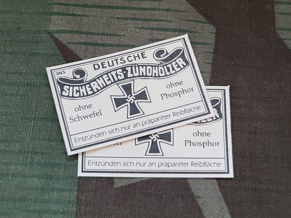 Repro Matchbox Labels (Set of 2)