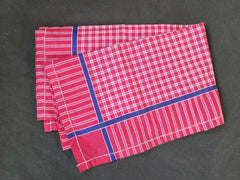 Red Plaid Handkerchief