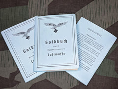 NEW Early War Luftwaffe Soldbuch