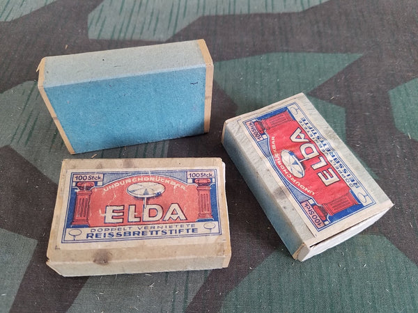 Original Elda Thumb Tacks AS-IS Rust