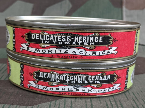 Herring in Tomato Sauce Sardine Tin Original Label