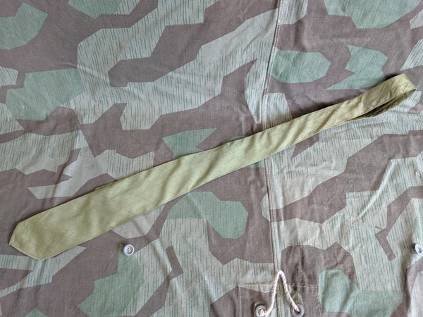 WWII German Afrika Korps DAK Satin Neck Tie S2