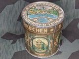 Worn Period Nuernberger Lebkuchen Tin
