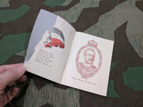 WWI War Poems and Song Book - Rote Kreuz Edition