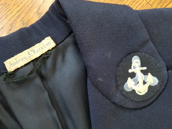 Original WAVES Women's Navy Uniform Tunic