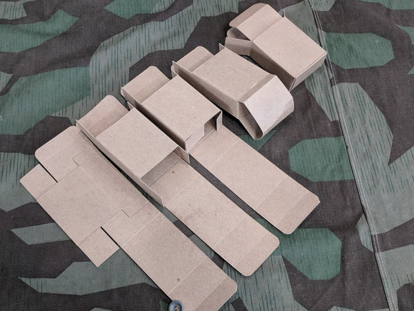 Repro 8mm Cardboard Ammo Boxes