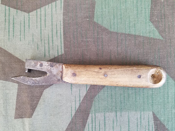 Niebel Wood Handle Can Opener