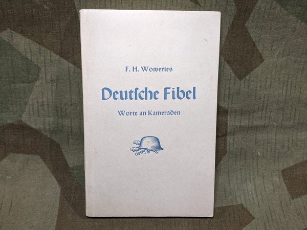 WWII German Deutsche Fibel 1941 Political Book