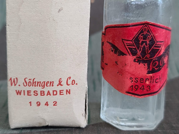 1942 1943 Full Bottle of Salmiakgeist