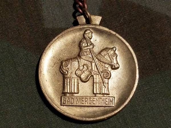 Bad Mergentheim Keychain or Fob