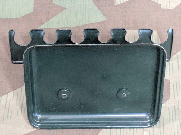 Dark Green Metal Stamp Holder