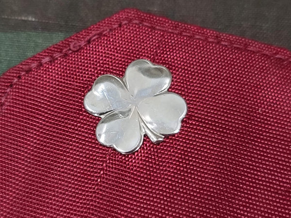 Four Leaf Clover Mirror in Pouch
