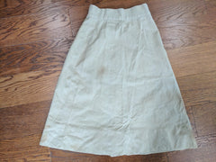 "WAC Tan Skirt (As-Is) - 23"" Waist"
