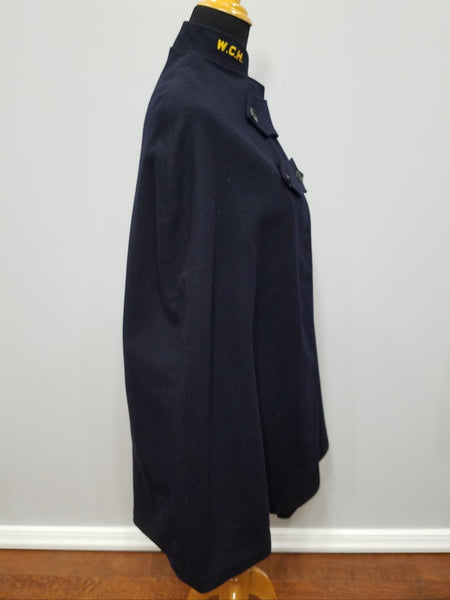 Navy Blue Nurse's Cape W.C.H.