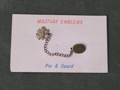 Army Eagle Double Pin on Card