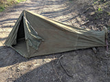 Vintage WWII-era German Backpack Camping Tent