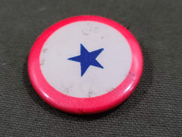 In Service Blue Star Pin