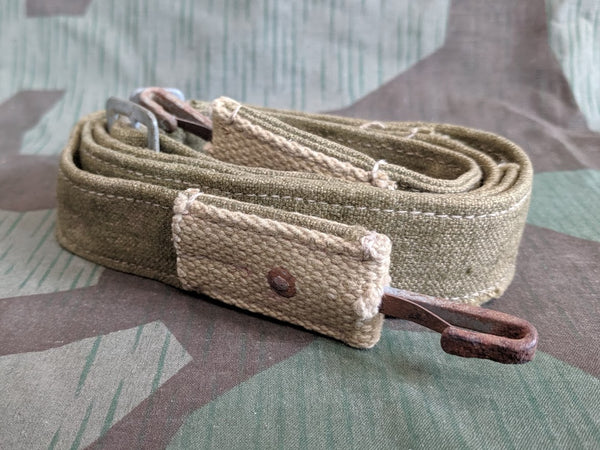 WWII German Tropical Bread Bag Strap AS-IS