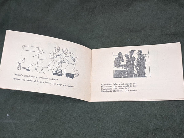 Laughs De Luxe 1944 Joke Book