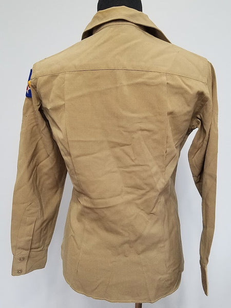 "Tan Women's WAC Undershirt (as-is) <br> (B-40"" W-33"")"
