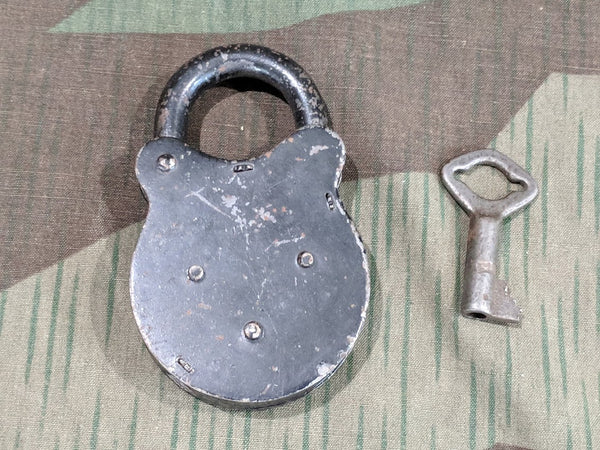 German Lock with Key