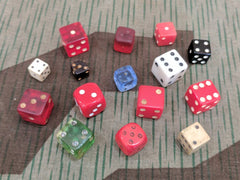 SALE: Lot of 15 Dice