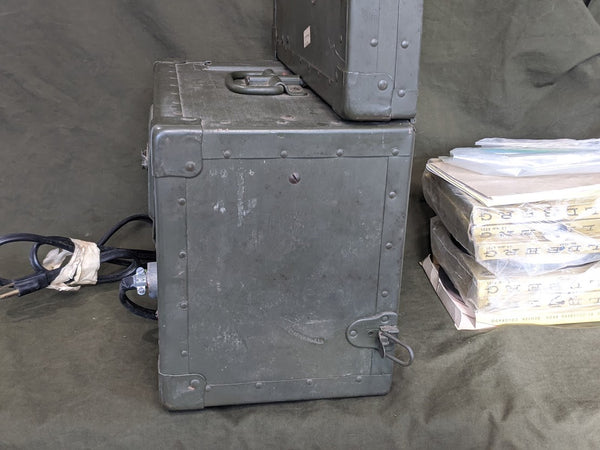 TG-34-A US Signal Corps Morse Code Trainer WORKING