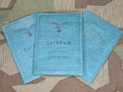 NEW Luftwaffe Mid-Late War Soldbuch