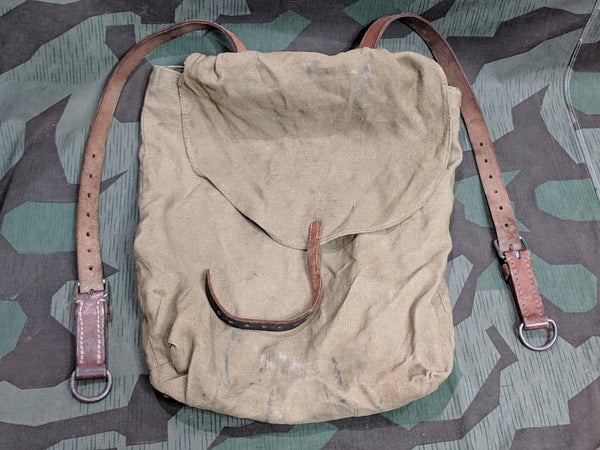 Assmann Back Pack Made from WWII German Bits