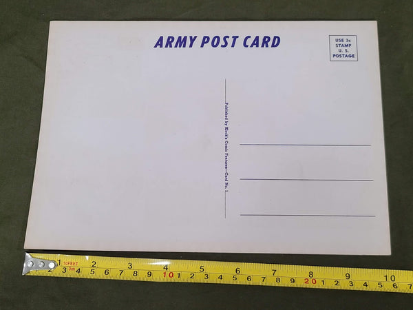 Large US Army Postcard Lowry Field