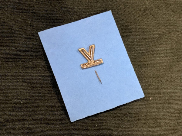 V for Victory Morse Code Stick Pin