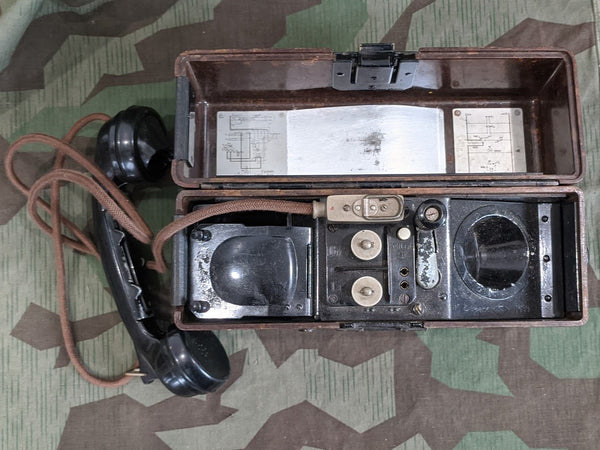 1939 Working FF33 Field Phone