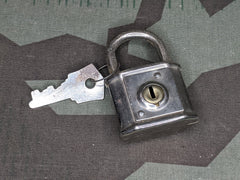 German Lock w/ One Key