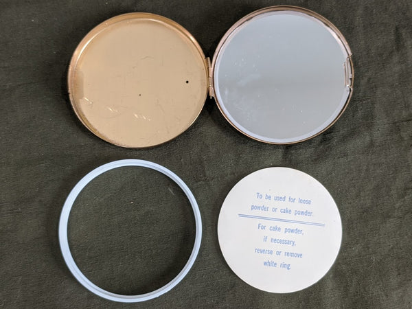 Parachute Rigger Celluloid Compact - New Old Stock