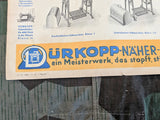 Dürkoppwerke Sewing Machine Advertisement