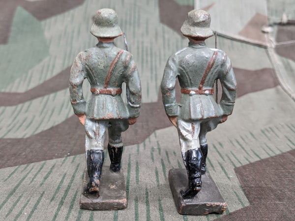 Lineol Elastolin Composition Toy Soldier Figure