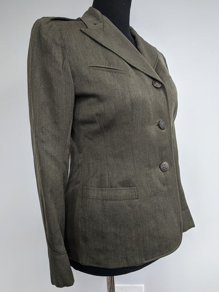 "WWII Women's Marine Corps Jacket (as-is) <br> (B-36"" W-30"")"