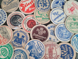 Lot of 5 Vintage German Beer Coasters
