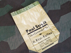 Paul Streit Green Coffee Bags
