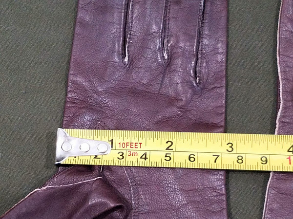 Brown Leather Gloves (Size 6 1/2)