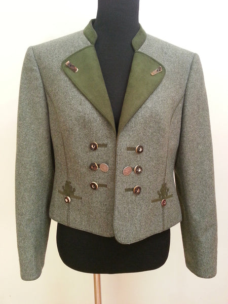 Feld Grau Trachten Jacket German Traditional Clothing Dirndl