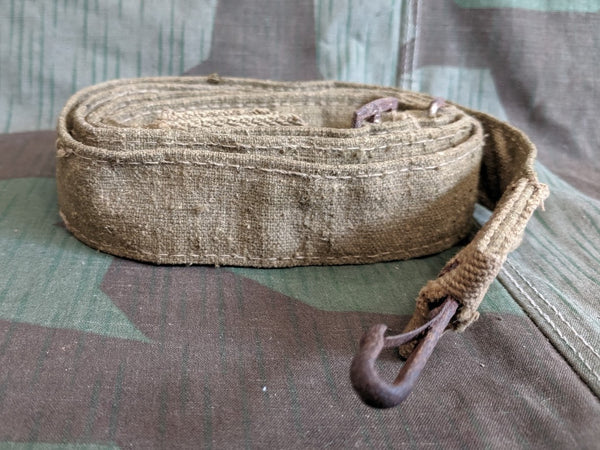WWII German Tropical Bread Bag Strap