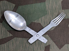 G K & F 40 WWII German Fork Spoon