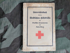 WWII DRK German Red Cross Course Book for Female Personnel 1936