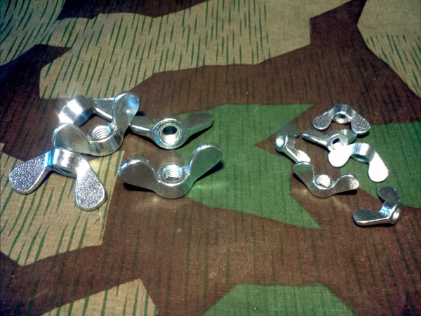 German Rounded Wing Nuts
