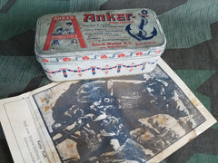 German WWI Era Anker Sewing Machine Tin